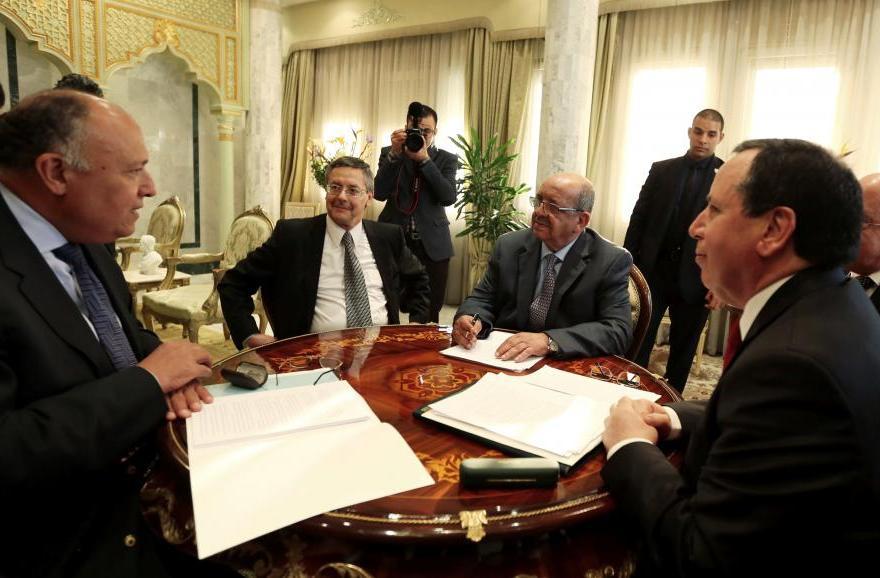 La première réunion s'est tenue à Tunis. D. R.
