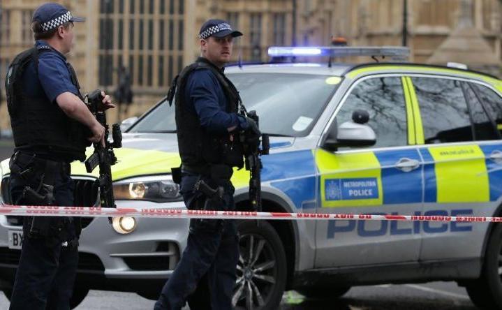 La police britannique traite l'affaire comme un incident terroriste. D. R.