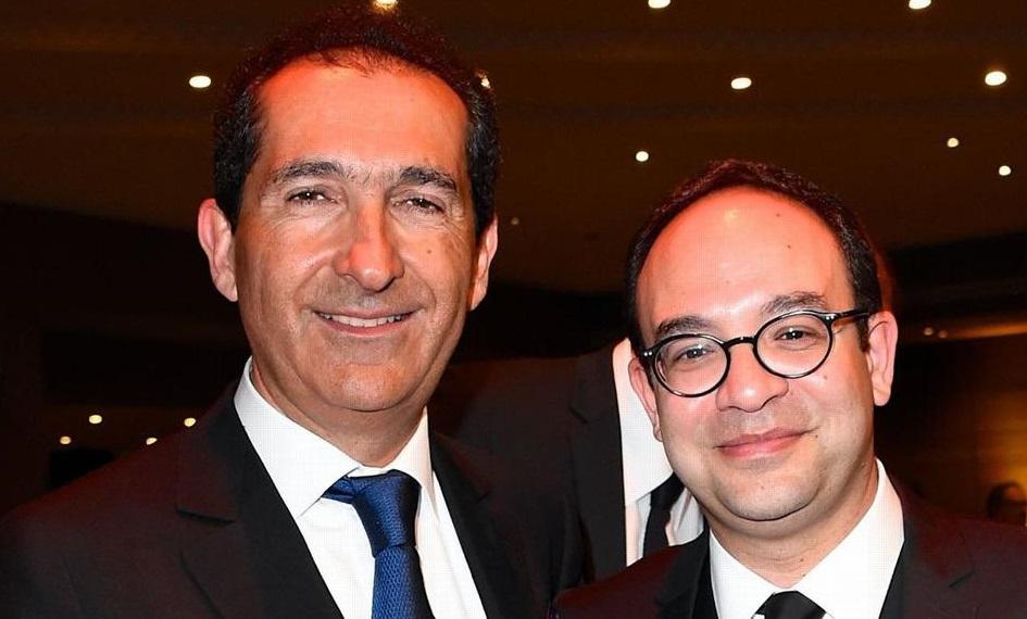 Patrick Drahi et Frank Melloul, deux porte-voix du sionisme originaires du Maroc. D. R.
