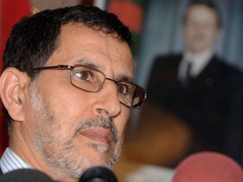 Saad-Eddine El-Othmani, lors d'une visite en Algérie en 2012. D. R.