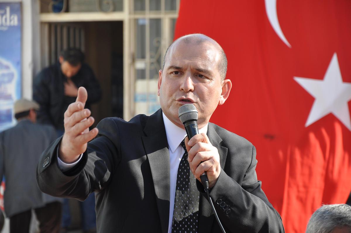 Süleyman Soylu, ministre turc de l'Intérieur,. D. R.