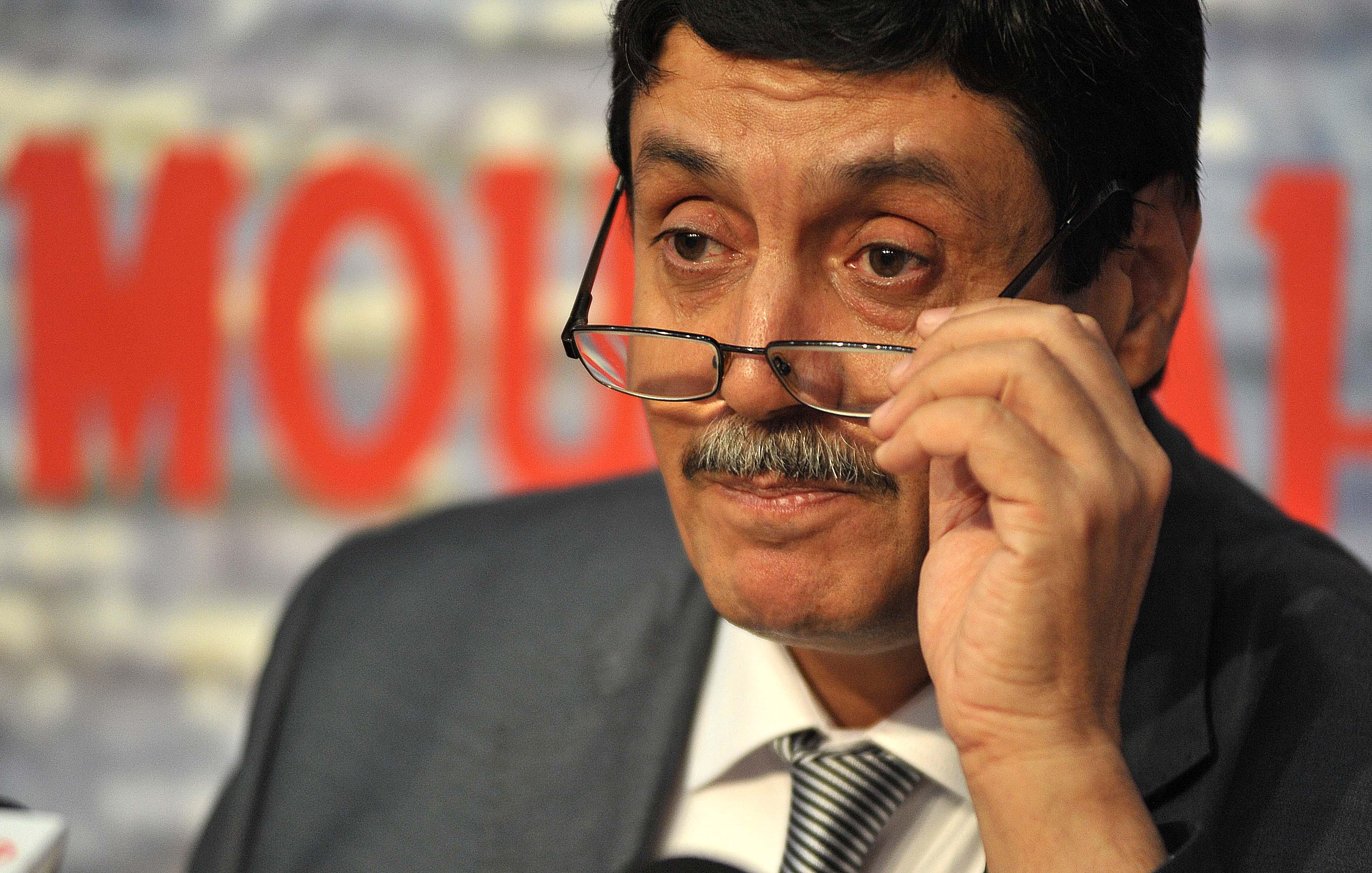 Le ministre des Moudjahidine, Tayeb Zitouni. D. R.