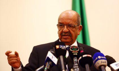 Messahel : «L'accord libyen est le socle de la solution»