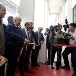 Tebboune inaugurant le Batimatec-2017. New Press