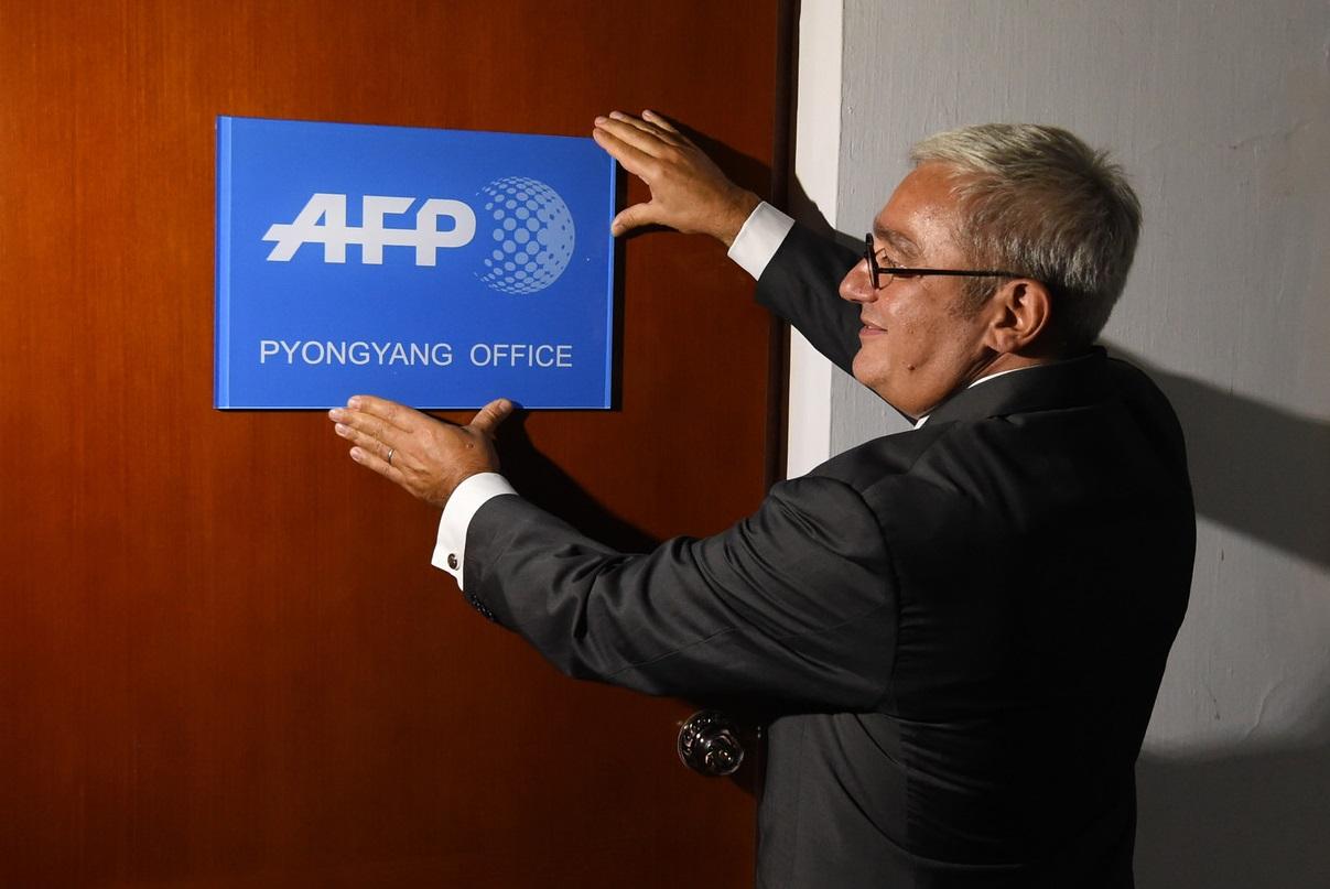 Emmanuel Hoog, directeur général de l'AFP. D. R.