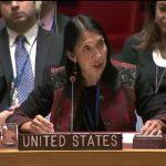 La représentante permanente adjointe des Etats-Unis à l'ONU, Michele J. Sison. D. R.