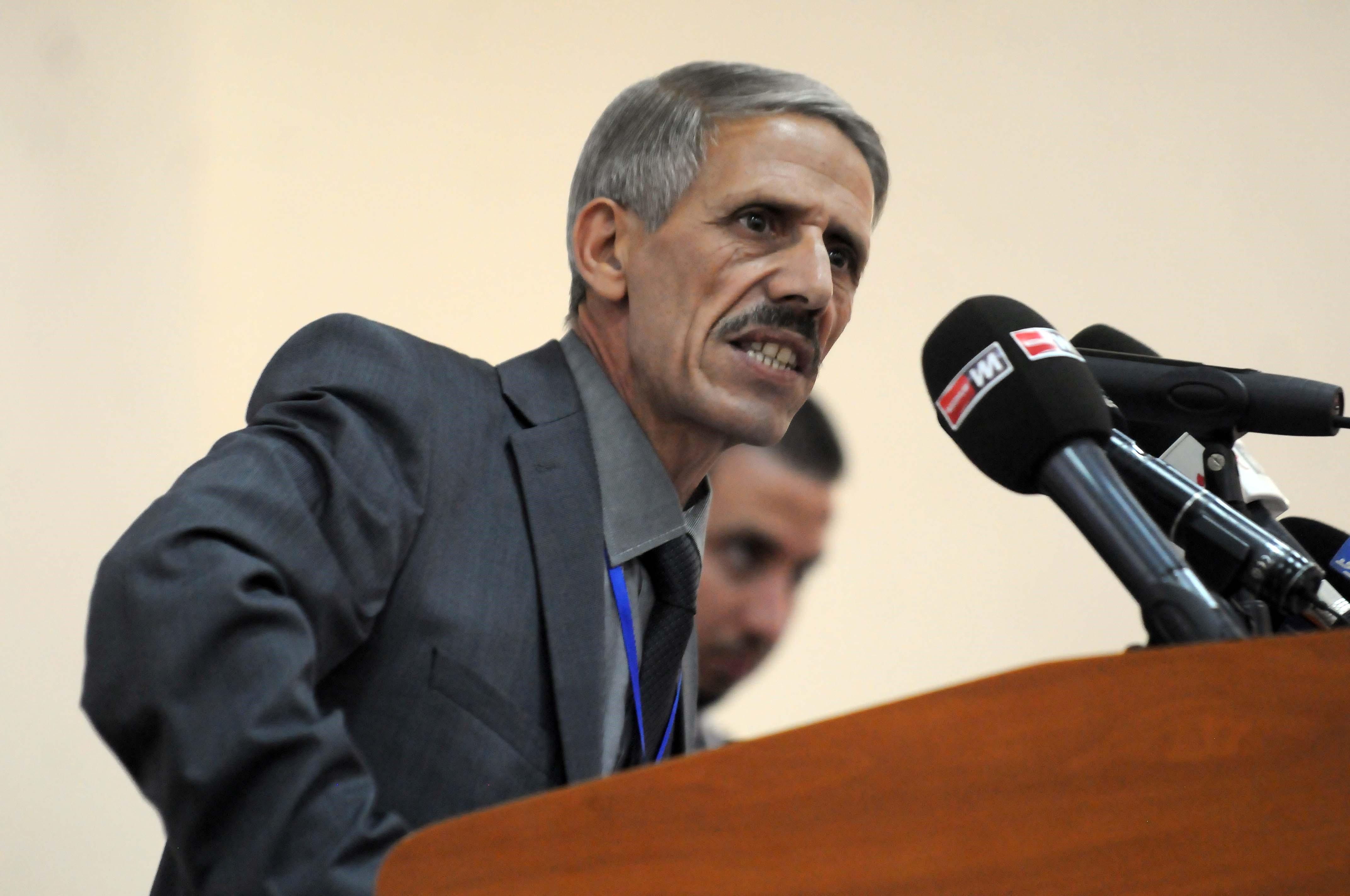 Le Premier secrétaire national du FFS, Abdelmalek Bouchafa. New Press