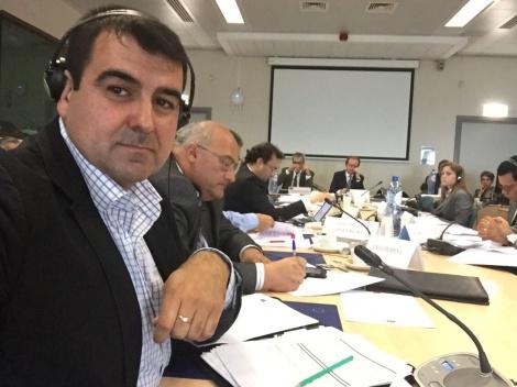 Andres Gongora, représentant de la coordination espagnole des organisations des agriculteurs et des éleveurs. D. R.