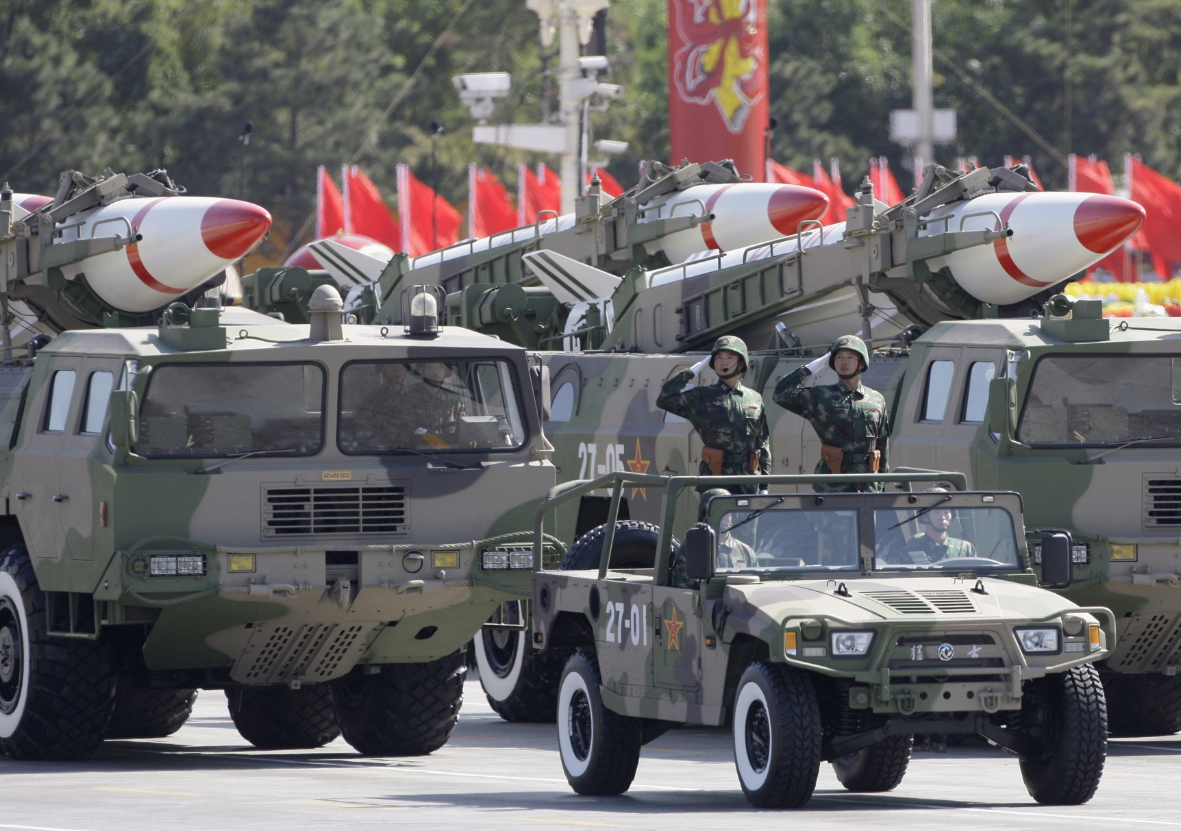 L'armée chinoise a pris ses dispositions pour parer à toute éventualité. D. R.