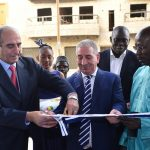 Inauguration du nouveau showroom de Dakar par Abderrahmane Benhamadi. D. R.
