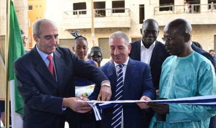 Benhamadi inaugure le showroom de Condor Electronics à Dakar