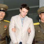 Otto Warmbier, un étudiant américain de 21 ans, condamné à 15 ans de prison en 2016. D. R.