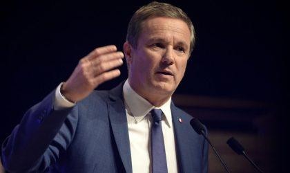 Le candidat à la présidentielle française Nicolas Dupont-Aignan : «Si on ne développe pas le Maghreb, on aura le chaos»