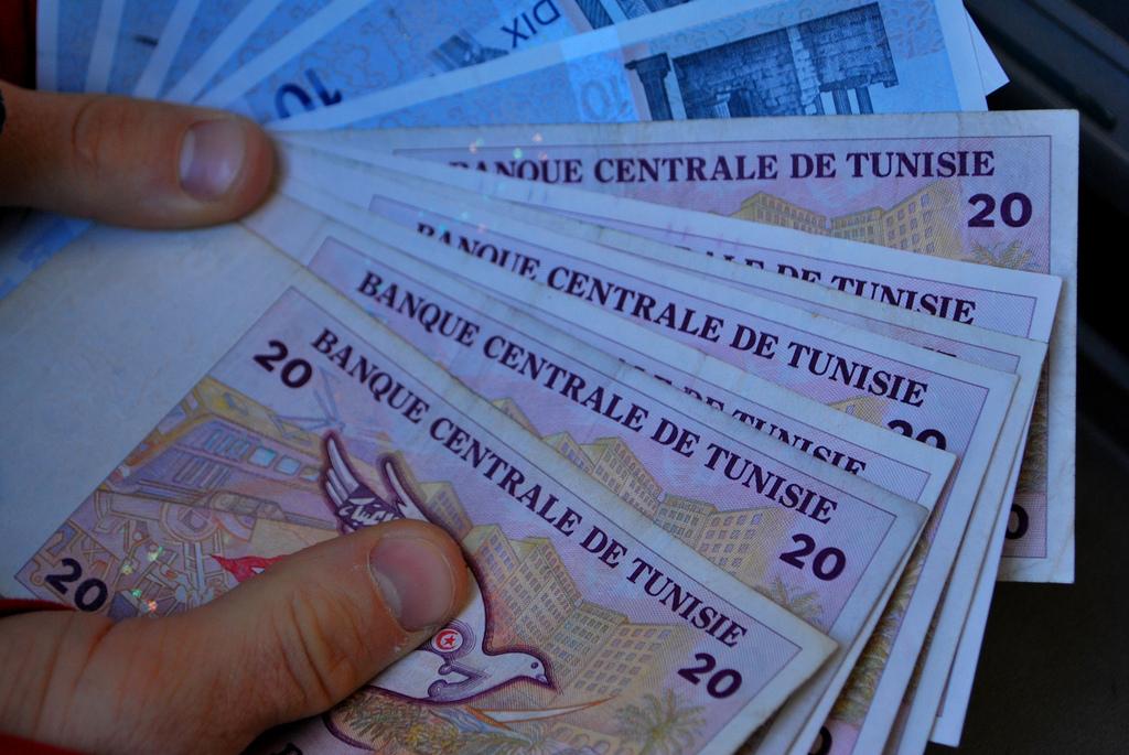 Les analystes imputent la chute du dinar tunisien à la baisse des réserves de devises. D. R.