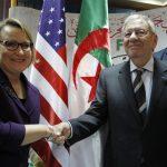 L'ambassadrice des Etats-Unis, Joan Polaschik, reçue par Djamel Ould-Abbès. New Press