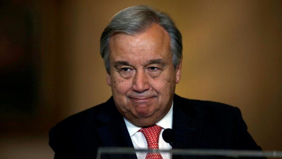 Antonio Guterres. D. R.