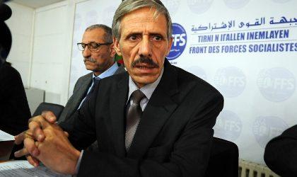 FFS : «Nous ne participerons pas au pouvoir»