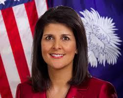 Nikki Halley, ambassadrice des Etats-Unis auprès de l'ONU. D. R.