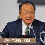 Jim Yong Kim, président de la BM. D. R.