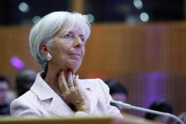 Christine Lagarde, directrice générale du Fonds monétaire international. D. R.