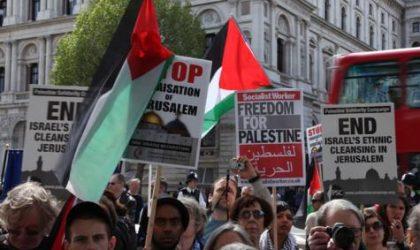 Londres : solidarité avec les prisonniers palestiniens