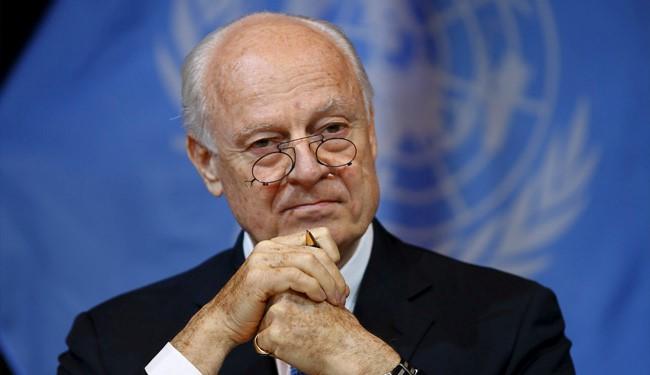 Staffan de Mistura, envoyé spécial de l'ONU pour la Syrie. D. R.