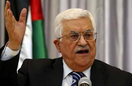 Mahmoud Abbas, président de l'Autorité palestinienne. D. R.