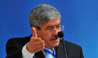 Législatives : Ouyahia contre le gel des projets d'hôpitaux