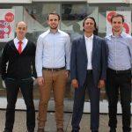 Des start-up accompagnées par Ooredoo présentent leurs projets innovants. D. R.