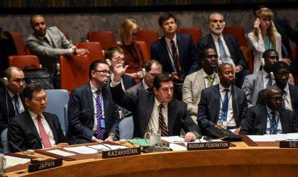 Syrie : la Russie oppose son veto au Conseil de sécurité