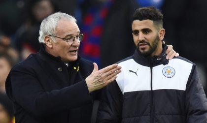 Claudio Ranieri révèle avoir reçu une offre de l'Algérie : Mahrez et Slimani seraient derrière