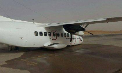 Un avion d'une filiale de Tassili Airlines rate son décollage à Hassi Messaoud