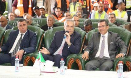 Talai visite le centre de maintenance des tramways