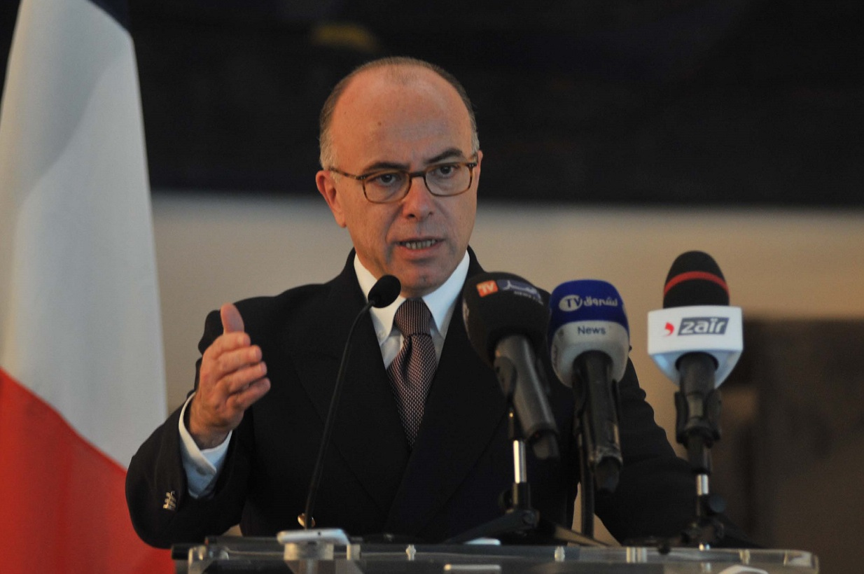 Bernard Cazeneuve. New Press