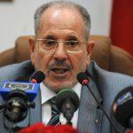Le président du Haut Conseil islamique, Bouabdallah Ghlamallah. New Press