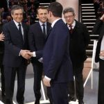 Les principaux candidats à la présidentielle française. D. R.