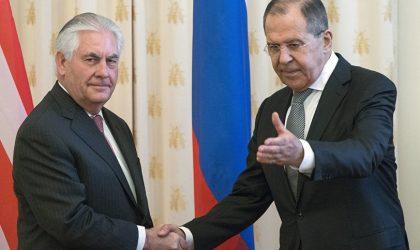 Lavrov lève le voile sur la rencontre Poutine-Tillerson