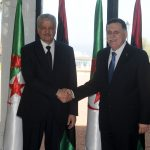 Le chef du gouvernement libyen, reçu par Abdelmalek Sellal. New Press