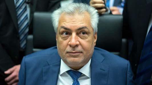 Le ministre du Pétrole irakien, Jabar Al-Luaibi. D. R.
