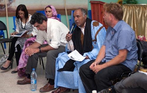 Abdeslam Omar, président de l'Afapredesa. D. R.