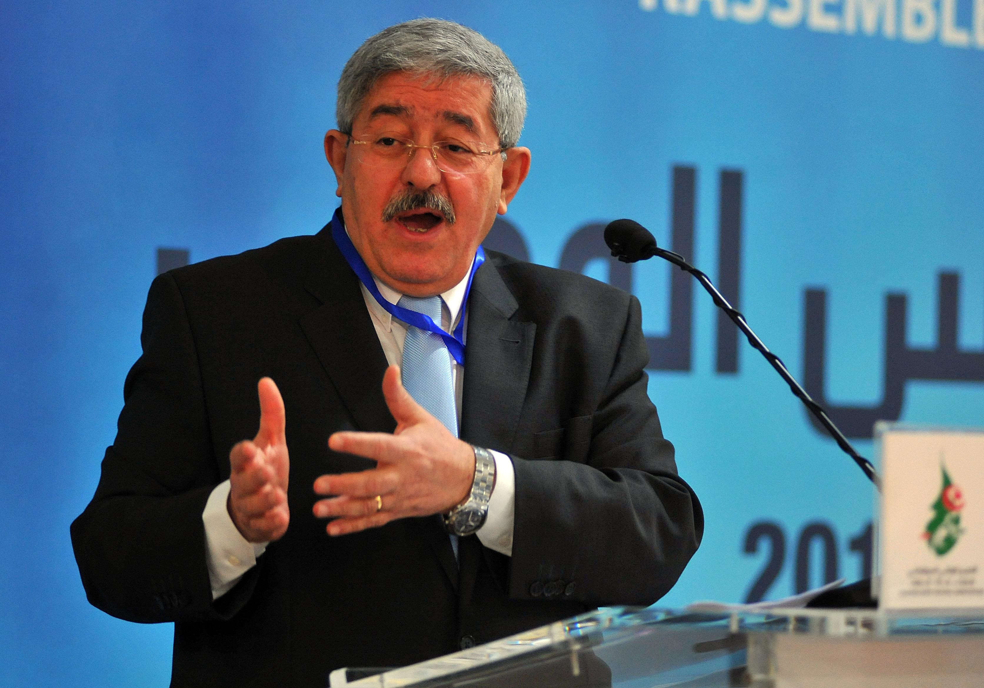 Ahmed Ouyahia, secrétaire général du RND. Archives/New Press