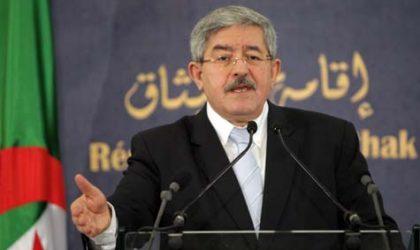 Ouyahia : «Un remaniement ministériel avant les élections est peu probable»