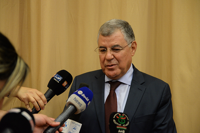 Mustapha Guitouni, PDG de Sonelgaz. D. R.