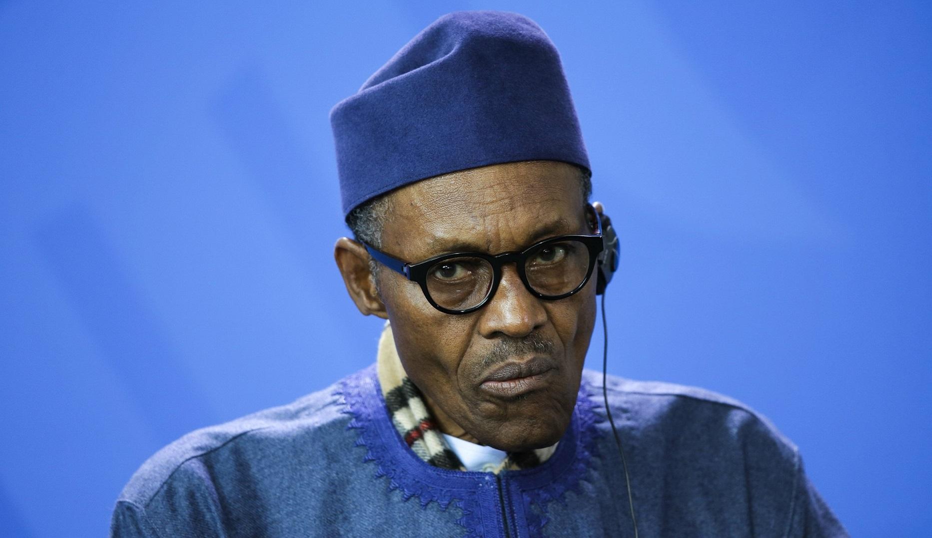 Le président Muhammadu Buhari. L'Afrique de l'Ouest ne veut pas du Maroc à la Cédéao. D. R.