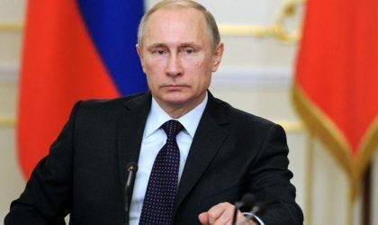 Poutine : «Les frappes américaines en Syrie sont une agression»