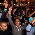 Les manifestants ont défilés pour des revendications sociales et politiques. D. R.