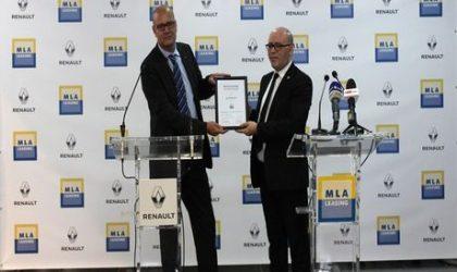 Convention de financement en crédit-bail : MLA et Renault-Algérie ciblent les PME