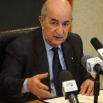 Abdelmadjid Tebboune assure l'intérim du département du commerce. New Press