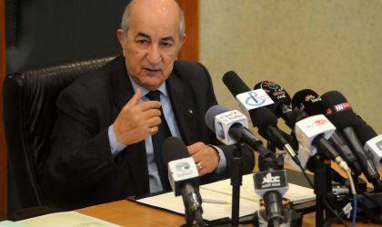 Abdelmadjid Tebboune pour une reconversion économique urgente