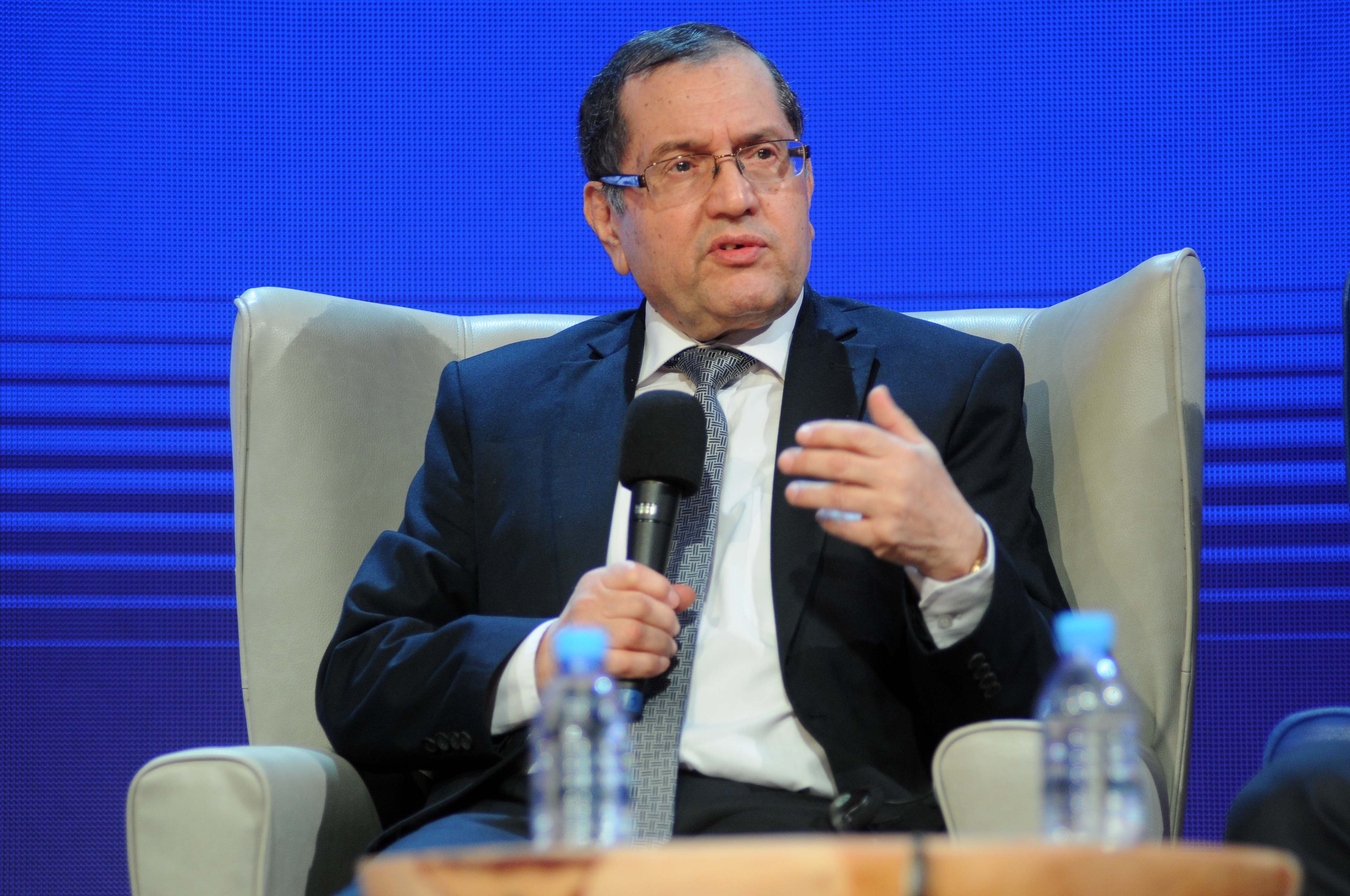 Noureddine Boutarfa, ministre de l'Energie. D. R.